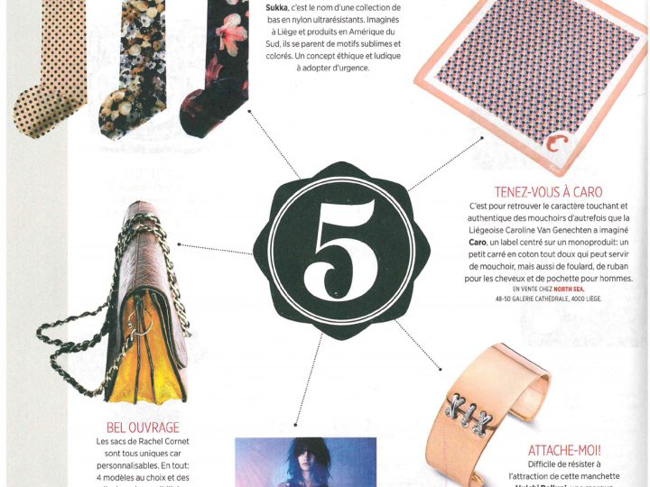 Our handkerchiefs in Gaël magazine!