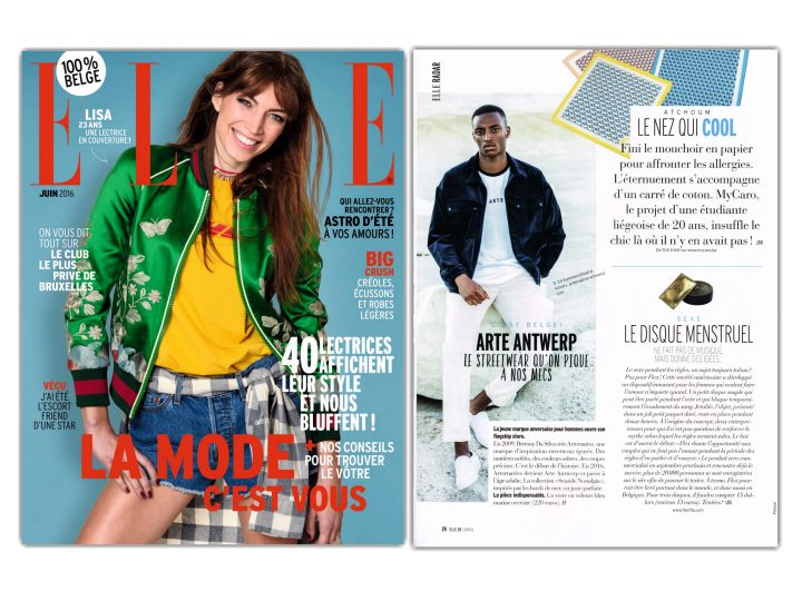 Our Hankies in ELLE magazine!
